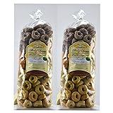 2 confezioni da 500gr di Tarallini pugliesi artigianali con lievito madre ed olio extravergine di oliva. 4 Gusti