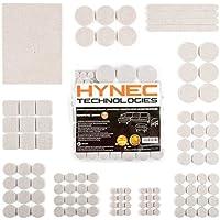 Patins de feutre pour meubles de qualité supérieure Hynec taille MOYENNE 7 protections de sol auto-adhésives de différentes tailles