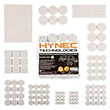 Best Furniture Pads - Hynec Premium Furniture Felt Pads MEDIUM Set 7 Review