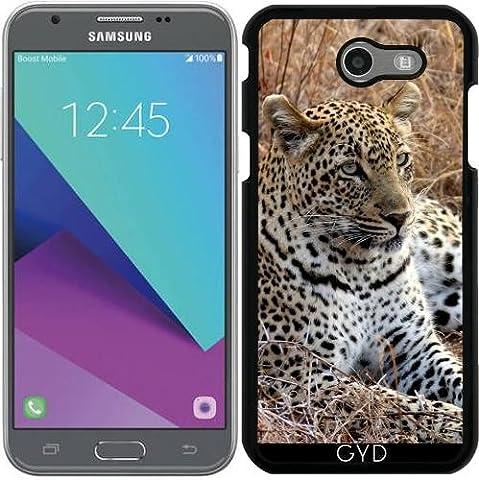 Hülle für Samsung Galaxy J3 2017 (SM-J327) - Leopardkatze Tiger Und Löwe by WonderfulDreamPicture