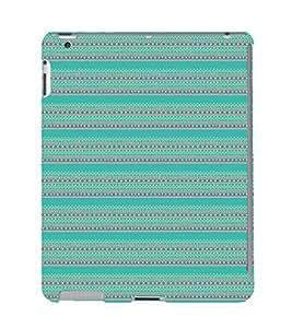 EPICCASE ethnic design Mobile Back Case Cover For Apple Ipad 2/3/4 (Designer Case)