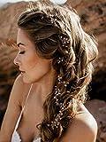 Hochzeits-Kristall-Strass-Stirnband von Handmadejewelrylady, Haarschmuck im Weinrebenstil, Damenkopfschmuck für Abendfeiern, FXmimor