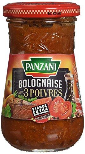 Panzani Sauce Bolognaise aux 3 Poivres 210 g