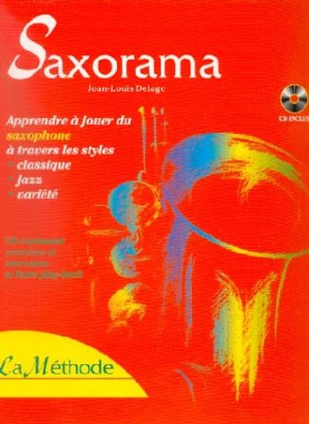 Partition : Saxorama - Saxophone - Méthode + CD