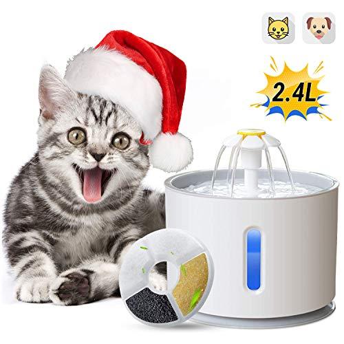 ADOV Fuente Gatos, 2.4L Dispensador Automático Agua