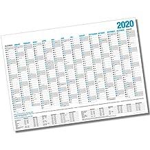 ���� ������������������������ �������� / ���������������� ������������������������ - 14 Monate Jahreskalender + Gratis Urlaubsplaner 2020 (86 x 59 cm)