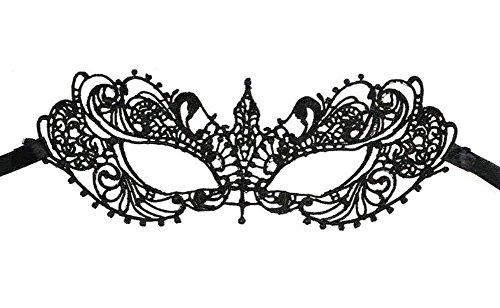 Masken, Da.Wa Spitze Cosplay venezianischen Maskerade Maske für (Gras Mardi Masken Elegante)