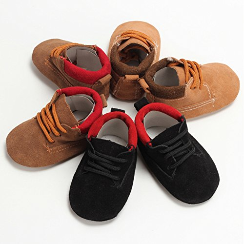 leap frog  Suede Sneakers, Baby Jungen Krabbelschuhe & Puschen Braun