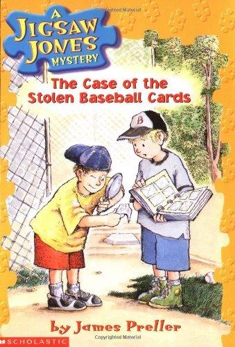 The Case of the Stolen Baseball Cards (Jigsaw Jones Mystery, No. 5) by James Preller (2001-03-01) par James Preller
