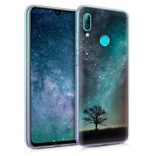 kwmobile Huawei P Smart (2019) Hülle - Handyhülle für Huawei P Smart (2019) - Handy Case in Blau Grau Schwarz
