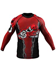Rashguard SMMASH SCREAM long-sleeved S M L XL XXL XXXL MMA BJJ UFC (XL)