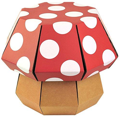 Funny Paper 9401.80-9000 Mushroom Stool Kinderhocker aus Pappe