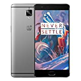 Oneplus Three 6+64GB NFC 4G LTE Dual Sim Oneplus 3 A3000 Android 6.0 Quad Core 2.2GHz 5.5 inch FHD 8+16MP Grau