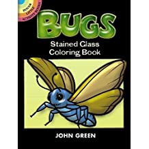 Bugs : Stained Glass Coloring Book