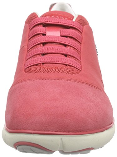 Geox D Nebula C, Sneakers Basses femme Coral (Coral C7008)