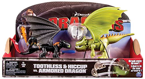 Dragons toothless vs armored - Personaggi d'azione-trasformer SPIN MASTER