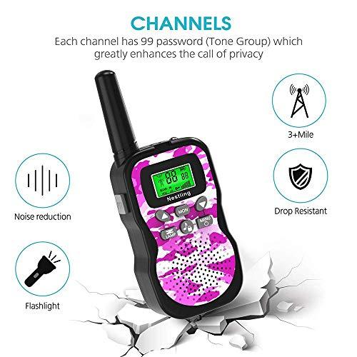 Zoom IMG-3 nestling walkie talkie bambini 8