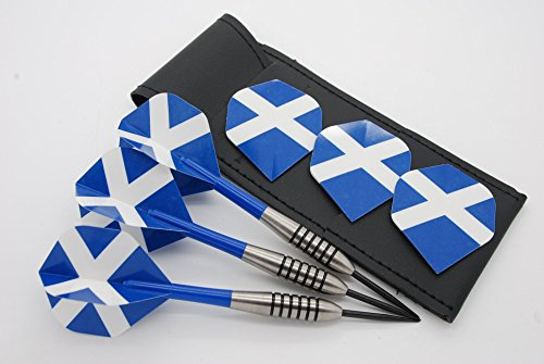 19 g 21 g 22 g 23 g 24 g 25 g 26 g 28 g 32 G Tungsten Darts Set, Schottland Dart Flights, Stiele & Fall (Schottland Dart Flights)