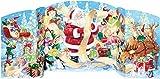 Santa Claus Freistehender Adventskalender