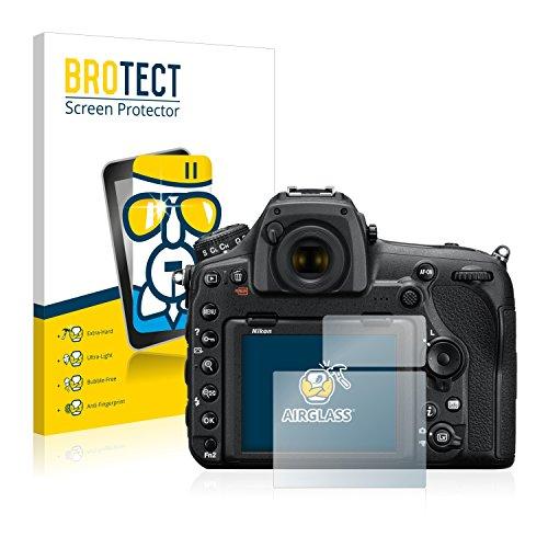 BROTECT Panzerglasfolie für Nikon D850 Panzerfolie Schutzfolie – Flexible Glasfolie [AirGlass], Displayschutzfolie 9H