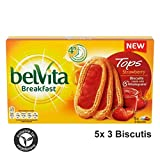Belvita Breakfast TOPS Strawberry (5x50g) 250g - Frühstückskekse