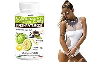 GARCINIA EXTRAFORTE & PIPERINE EXTRAFORTE (30 CPR) a doppia azione in un'unica compressa! Risveglia il metabolismo e BRUCIA SUBITO I GRASSI! Un connubbio di due principi attivi ad EFFETTO IMMEDIATO!