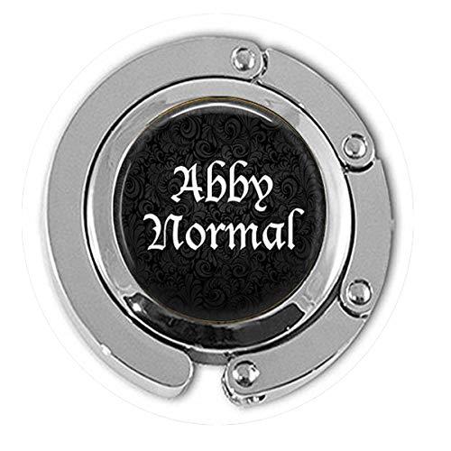 qws Abby Normal Schlüsselanhänger - lustiges Zitat - abnormal - Frankenstein Schmuck - Cosplay Aufhänger - Bibel-Zitat - Religiöse Schmuck-Aufhänger (Quotes Frankenstein Halloween)