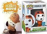 SPaceDog Big Dreams Animierte Peanuts Gang Movie DVD + Astronaut Snoopy Exclusive Vinyl Pop! Figur 2 Kinder-Familie Spaß!
