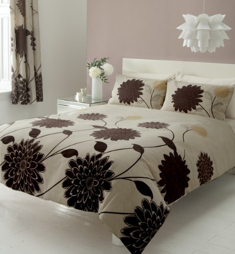 brown-king-size-duvet-set-with-matching-curtains-66-x-72-sheet