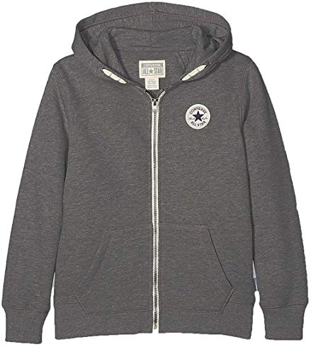 Converse Kern Chuck Taylor Patch Hoodie - Holzkohle HEA - 6-7 Years / 116-122 cm