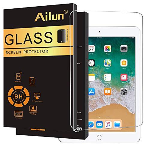 Ailun Panzerglas Für iPad Pro 9.7 Zoll Schutzfolie, Premium Hartglas Displayschutz Gehärtetem Glas Displayschutzfolie 9H Härte Anti-Kratzer Anti-Öl Anti-Bläschen Screen Protector Glass