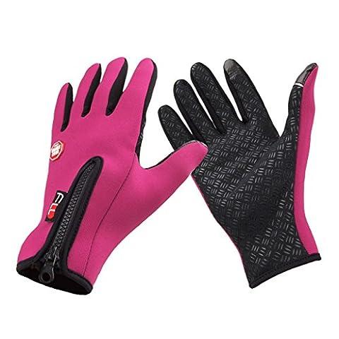 Skysper Winter Fahrradhandschuhe Mountainbike-Handschuhe, Herren und