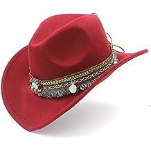 74a62964ddc46 Amazon.es  sombrero vaquero rojo