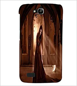 PRINTSWAG BEAUTIFUL GIRL Designer Back Cover Case for HUAWEI HONOR HOLLY