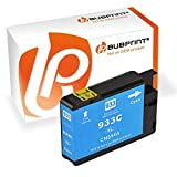 Bubprint Druckerpatrone kompatibel für HP 933XL 933 XL für Officejet 6100 ePrinter 6600 e-All-in-One 6700 Premium 7110 7510 7610 7612 Wide Format Cyan
