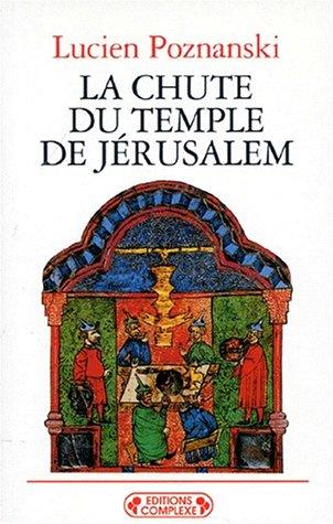 Chute du temple de Jérusalem par L.Poznanski