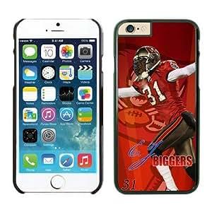 NFL Tampa Bay Buccaneers E.J. BIGGERS iPhone 6Fällen Schwarz 11,9cm nfliphone6cases13548
