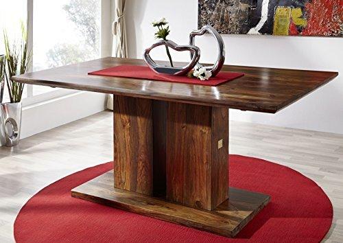 Table à manger 200x100cm - Bois massif de palissandre laqué - DUKE #138