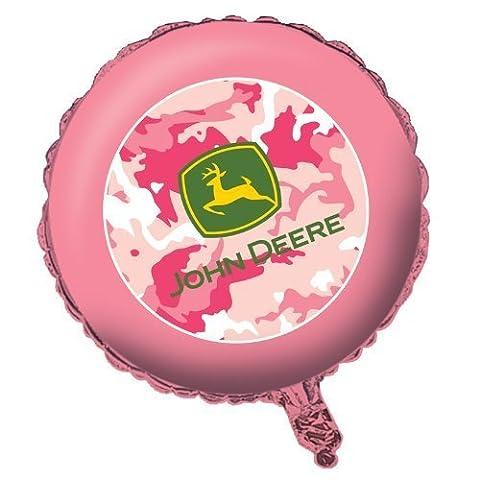 John Deere Pink Camo Foil Balloon 18 by Creative
