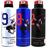 Beverly Hills Polo Club-Sport Deodorant Spray, 175 ml -Pack of 3