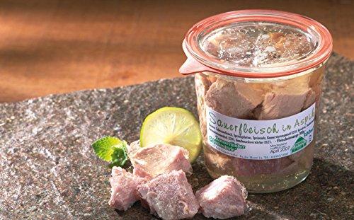 Sauerfleisch in Aspik | 500g Weckglas