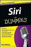 Siri For Dummies by Marc Saltzman (2012-11-28)