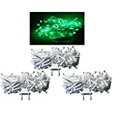 Exmade Green LED Rice Light 15 Metre (Pack Of 3)