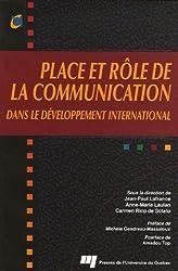 Place et rôle de la communication dans le développement international
