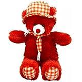 #3: Ansh Soft Toy Red Cap Teddybear - 70 CM
