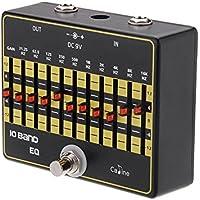 Caline CP-24 10-Band-EQ Equalizer True Bypass Gitarre Effektpedal mit Aluminiumlegierung