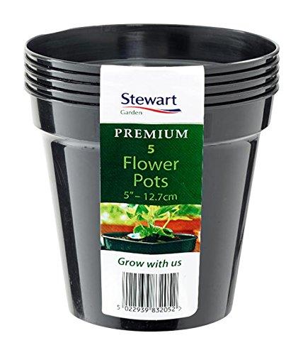 stewart-4832014-127-cm-flower-pot-orange-terracotta-pack-of-5