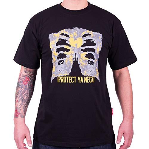 WU Wear - WU Tang Clan - WU X-Ray T-Shirt - WU-Tang Clan Taille S, Couleur Black