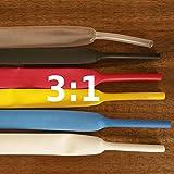 Schrumpfschlauch BEC3 12mm 135°C Schrumpfrate 3:1 UL/CSA 1m, Farbe:rot