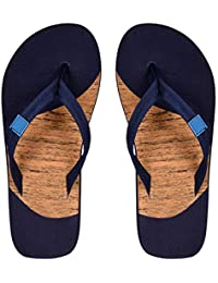 Style Height Wood Color Slipper For Men